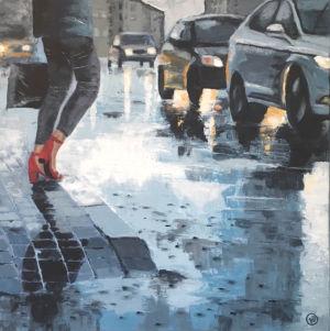 Röda skor